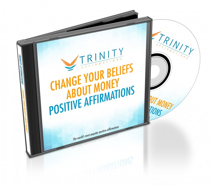Change Your Beliefs About Money Affirmations CD Album Cover