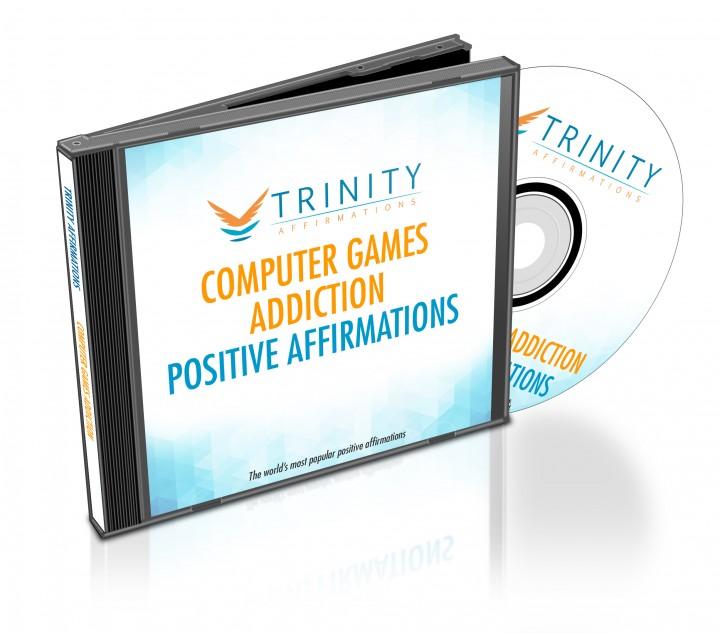 Computer Games Addiction Affirmations CD Album Cover