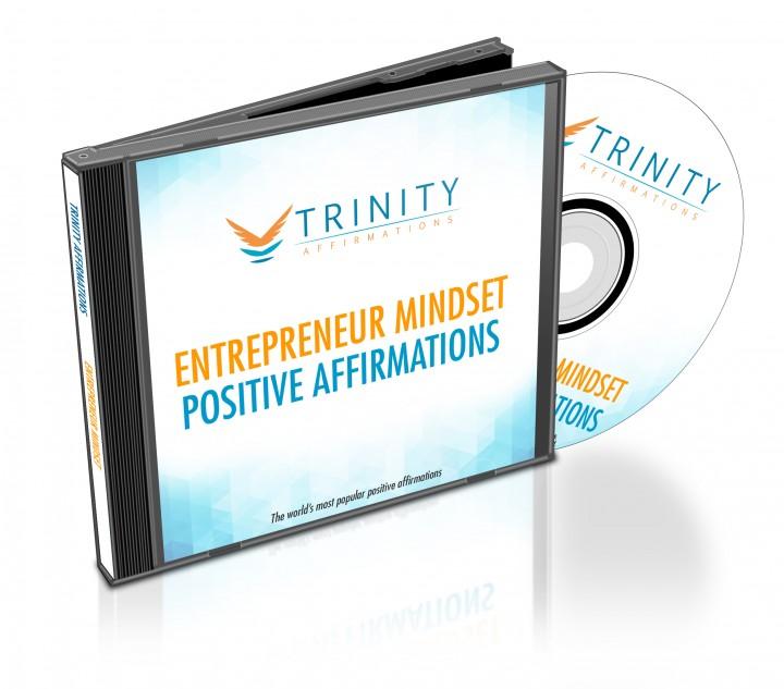 Entrepreneur Mindset Affirmations CD Album Cover