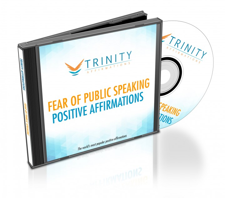 Fear of Public Speaking Affirmations CD Album Cover