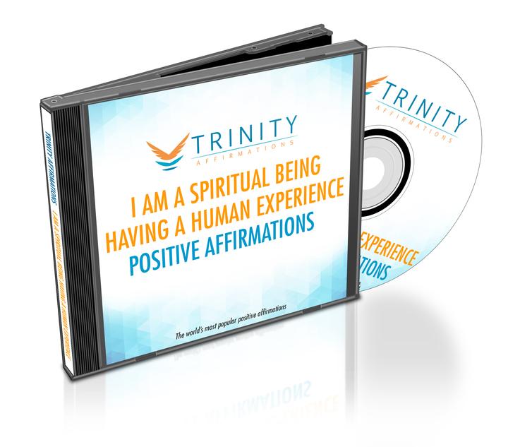 I Am a Spiritual Being Having a Human Experience CD Album Cover