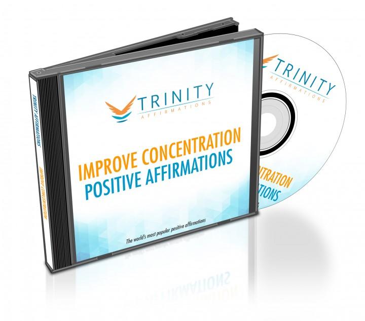 Improve Concentration Affirmations CD Album Cover