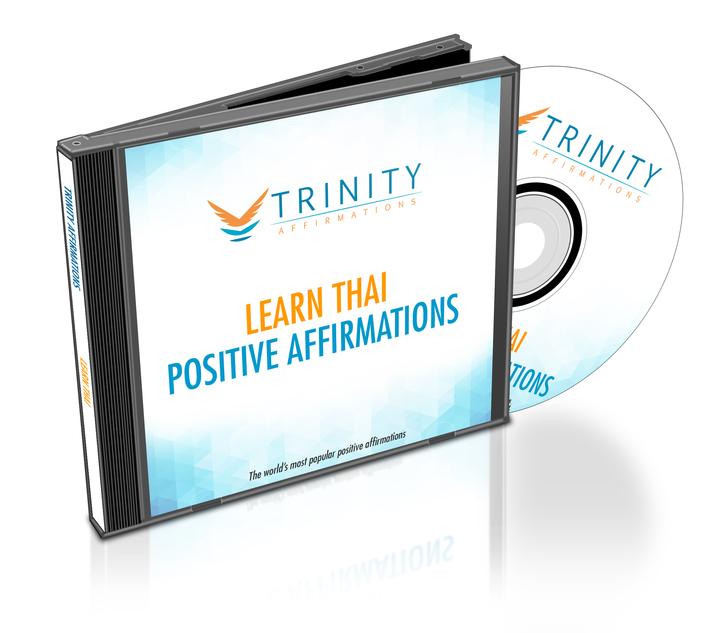 Learn Thai Affirmations CD Album Cover