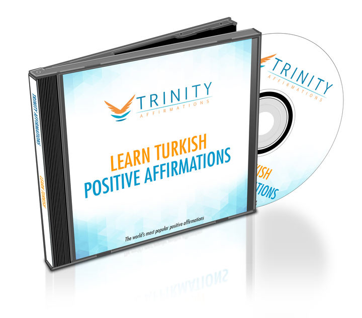 Learn Turkish Affirmations CD Album Cover