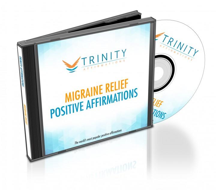 Migraine Relief Affirmations CD Album Cover