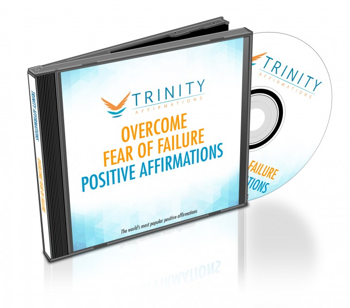 Overcome Fear of Failure Affirmations CD Album Cover