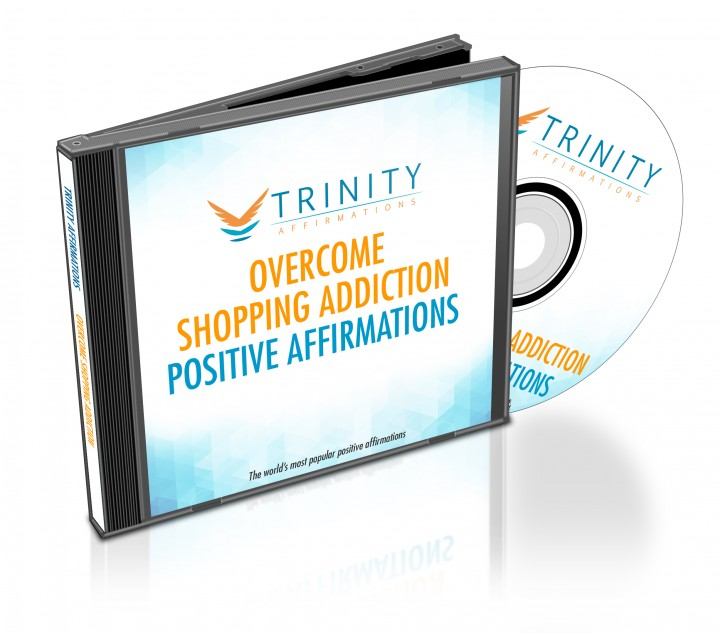 Overcome Shopping Addiction Affirmations CD Album Cover