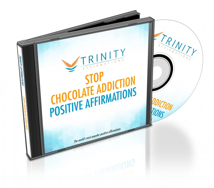 Stop Chocolate Addiction Affirmations CD Album Cover
