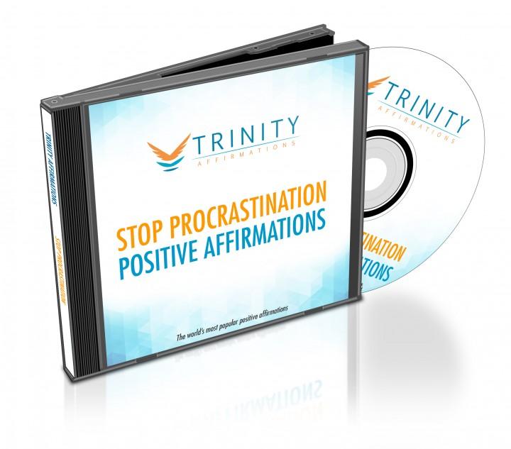 Stop Procrastination Affirmations CD Album Cover