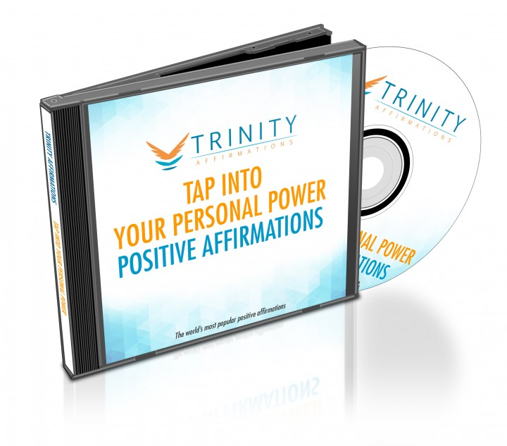 Tap Into Your Personal Power Affirmations CD Album Cover